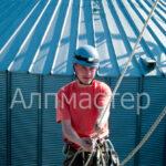 алпинисти - алпийски способ