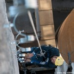 Монтаж на скоби за водосточни тръби