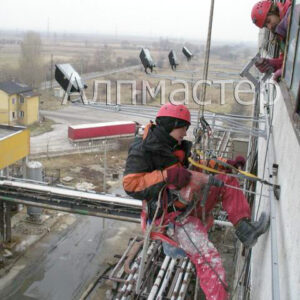 Монтажни дейности в завод Верила 2