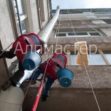 Изолация и обшивка на въздуховод
