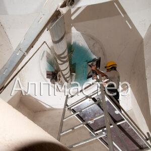 Демонтаж на тръба на силоз