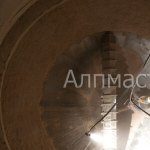 Почистване на цилиндричен силоз