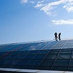 Измиване на покривни прозорци
