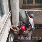 Монтаж на топлоизолация на въздуховод