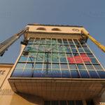 Почистване на фасадата на УниКредит Булбанк - София