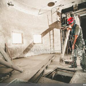 Подготовка за влизане в силоз - пивоварна Леденика, гр. Мездра