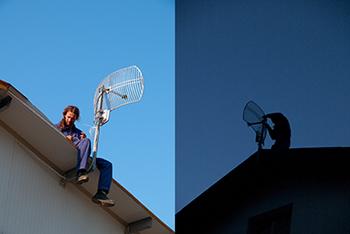 Монтаж на антени