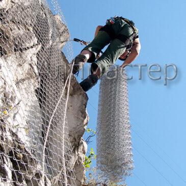 Монтаж на обезопасителни мрежи