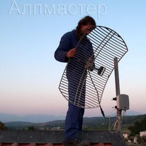 Монтаж на антена