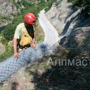 Обезопасяване на ерозирал склон