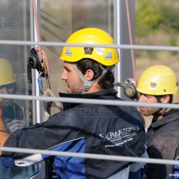 Почистване на прозорци в АГ болница Селена, Пловдив