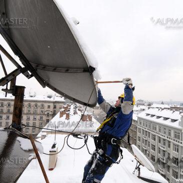 Отстраняване на сняг и ледени висулки