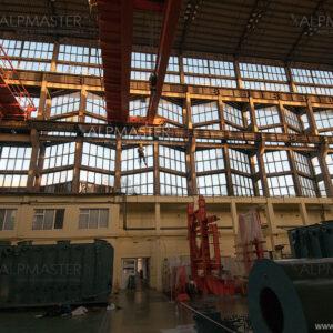 Цех за силови трансформатори на Hyundai Heavy Industries