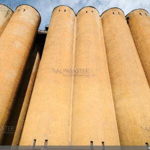 Силознен комплекс в завода за малц Малтери Суфле, някогашен Плевенско пиво